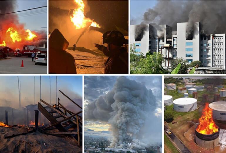 Crece el número de incendios por falta de infraestructura y normalización