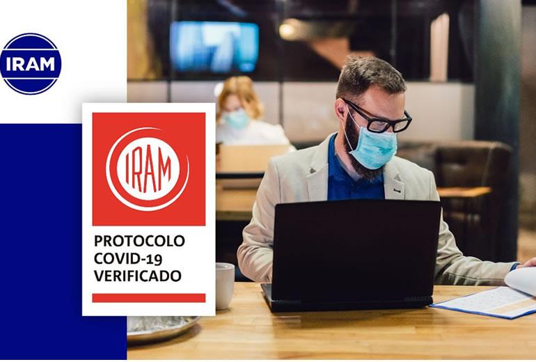 Certificación del Sello IRAM de Protocolo COVID-19 Verificado
